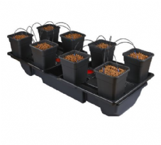 WILMA WIDE LARGE 8 POT SYSTEM - 8 x 11L POTS